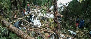 ۸ کشته در اتفاق سقوط هواپیمای اندونزیایی